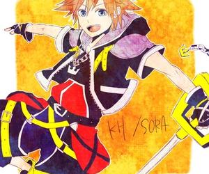 boy, drawing, and kingdom hearts image