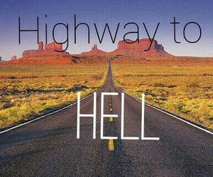 ACDC and highway to hell image