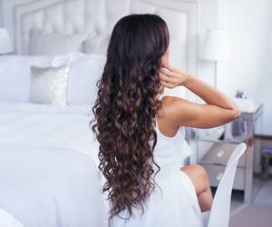brown, curls, and mimi ikonn image