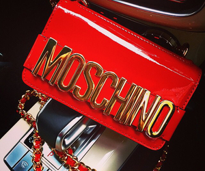 Moschino, red, and bag image