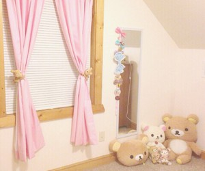 bedroom, kawaii, and rilakkuma image