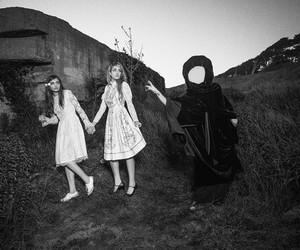 alien, black, and girls image