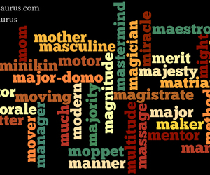 nouns, positive words, and positive thesaurus image