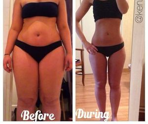 motivation, before and after, and fitspo image
