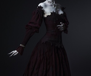 dress and dark image