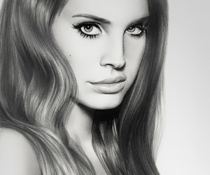 lana del rey and drawing image