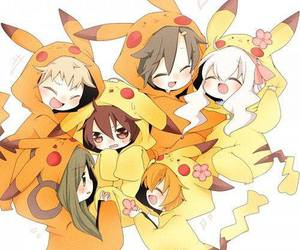 anime, pikachu, and kagerou project image