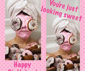 donuts, fun, and happy birthday image