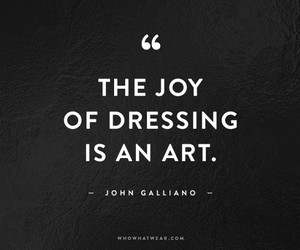 fashion, quotes, and art image