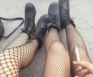 alternative, legs, and boots image