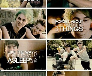 amnesia, calum hood, and luke hemmings image