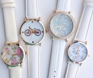 white and watch image