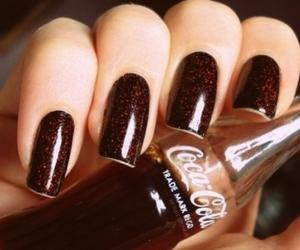 nails, coca cola, and coca-cola image