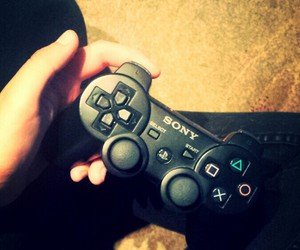 controller, girls, and play image