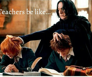 harry potter, funny, and teacher image