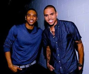 chris brown, trey songz, and sexy image
