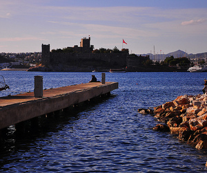 bodrum and castle image