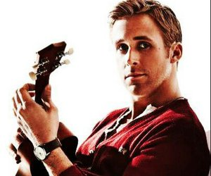 ryan gosling, guitar, and actor image