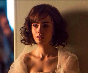 october, lily collins, and love rosie image