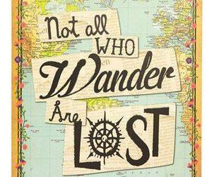 lost, map, and quote image