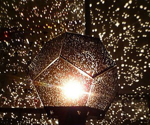 star projector image