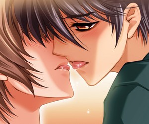 :3, kiss, and cute image