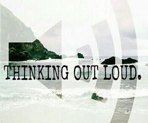 ed sheeran, music, and thinking out loud image
