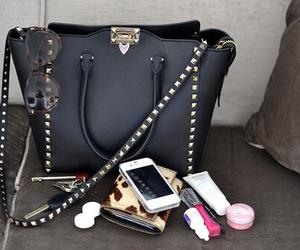 bag, fashion, and iphone image
