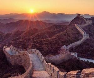 china, sun, and world image