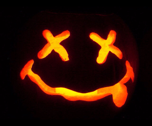 Halloween, nirvana, and pumpkin image