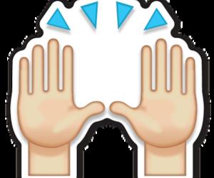 emoji and hands image