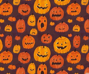 pumpkin, Halloween, and wallpaper image