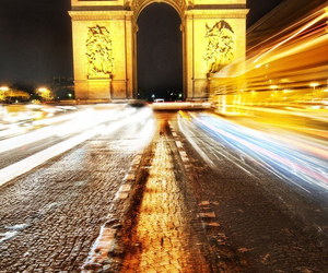 arc de triomphe, beautiful, and europe image