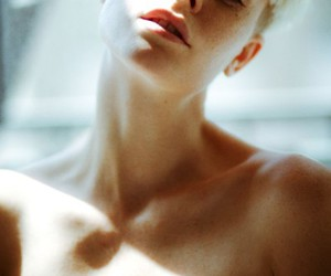 androgynous, beautiful, and blonde image