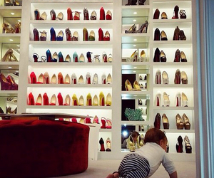 shoes, baby, and heels image
