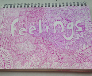 doodles, feelings, and patterns image