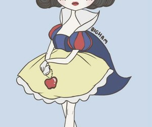 snow white, princess, and арт image