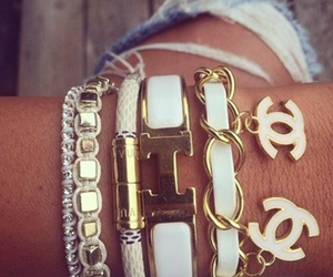 chanel, bracelet, and hermes image
