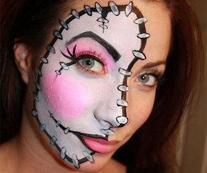 Halloween, halloween make up ideas, and halloween make up looks image