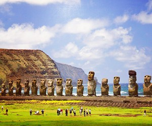 nature, sculptures, and south america image