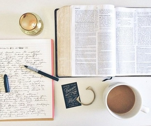 bible, book, and vintage image
