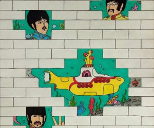 art, movie, and beatles image