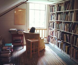 book, alone, and girl image
