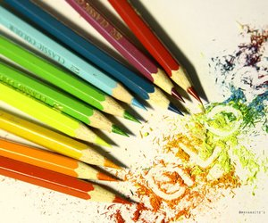 color, pencil, and photography image