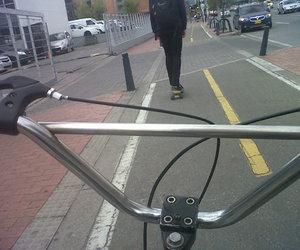 <3, bike, and boyfriend image