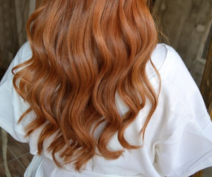 hair, red, and redhair image
