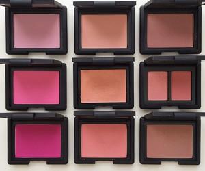 blush, nars, and beauty image