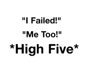 funny, friends, and high five image
