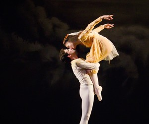 ballet, dance, and kiss image