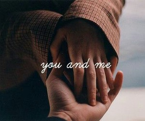 love, couple, and you and me image